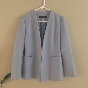 Zara Basics powder blue blazer in great condition